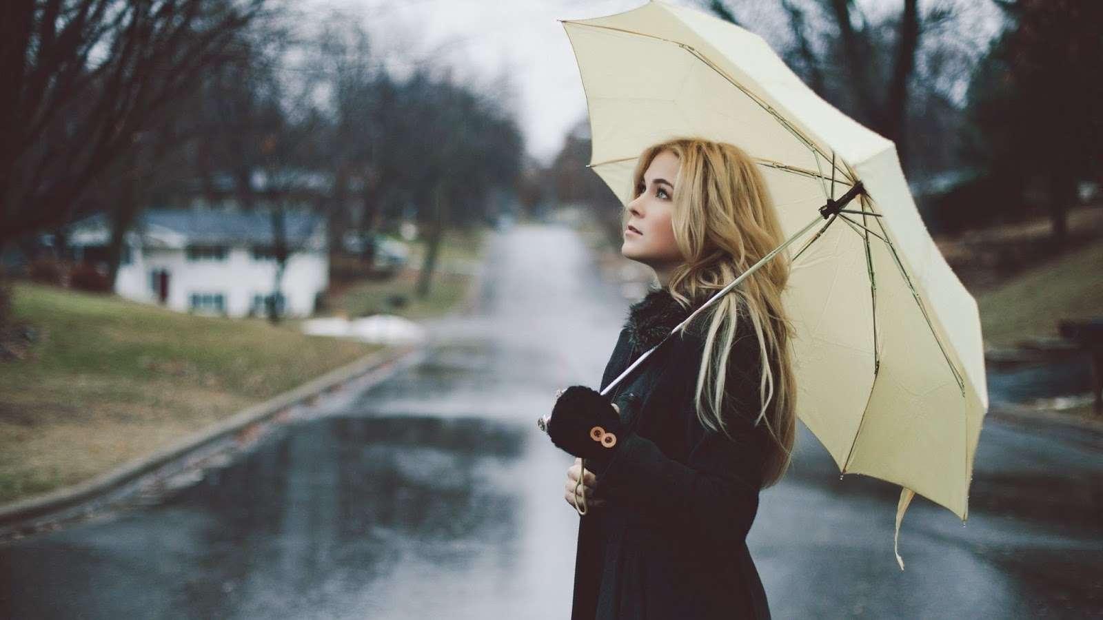 blondes-women-rain-models-umbrellas-1440x2560-Download