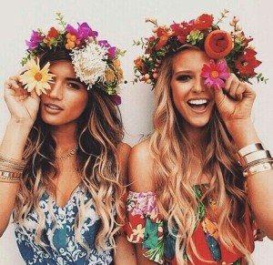 Mermaid-hair-with-Floral-Crown-2015-summer