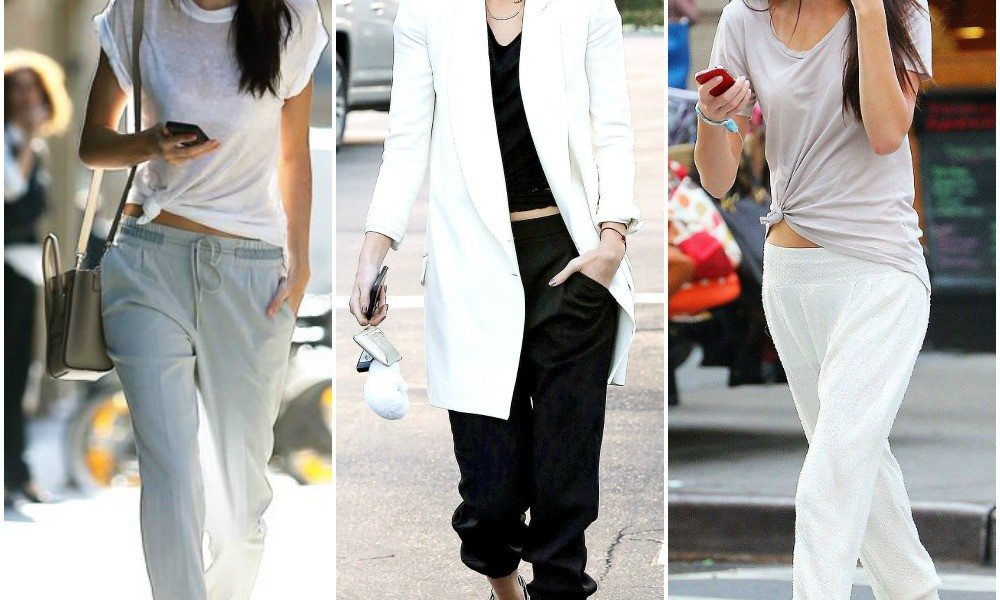 kendall-jenner-street-style-outfits-jogger-style-pants