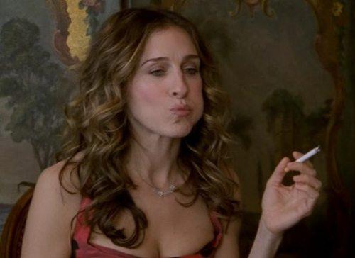 smoking carrie